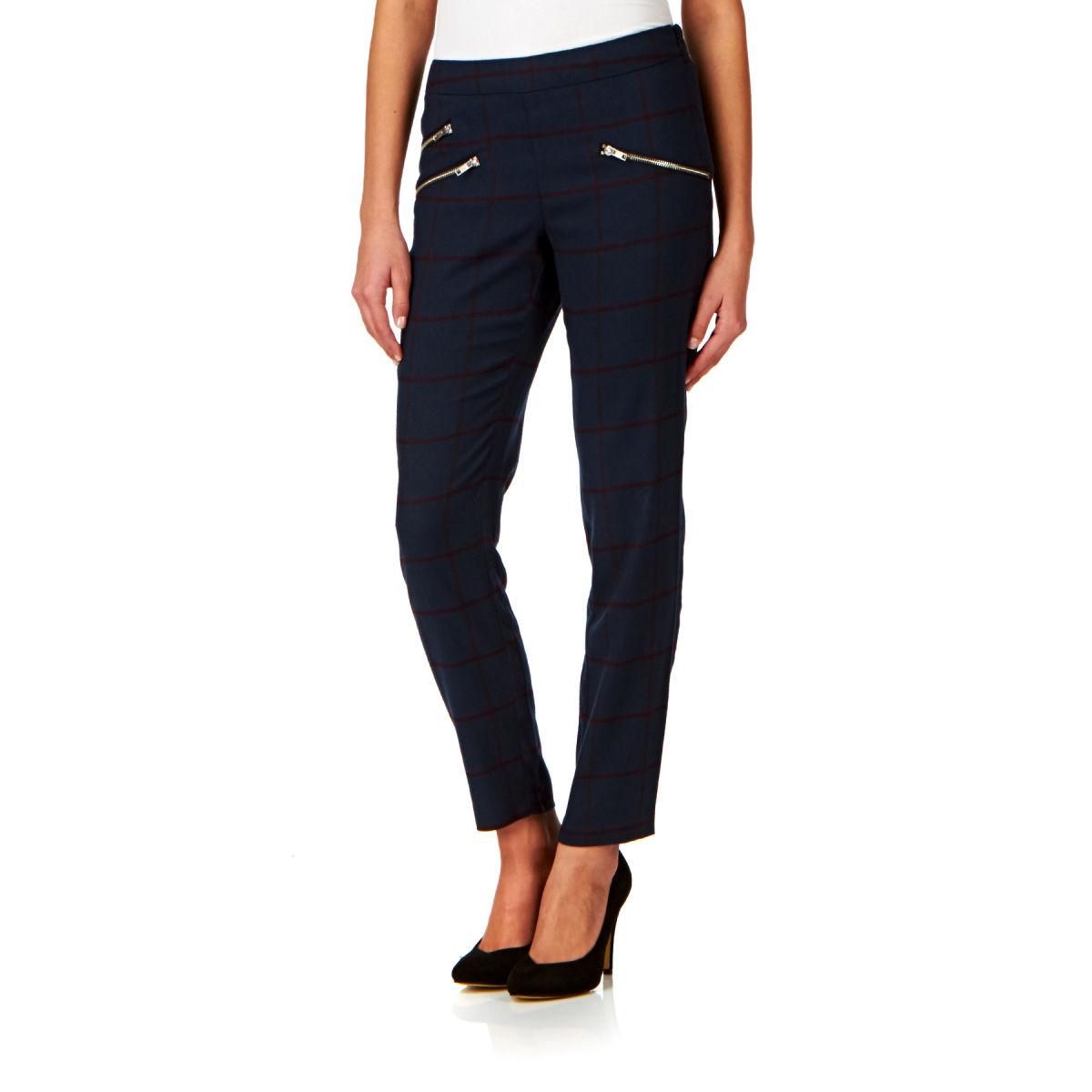 vila-trousers-vila-percilla-7-8-pant-trousers-total-eclipse