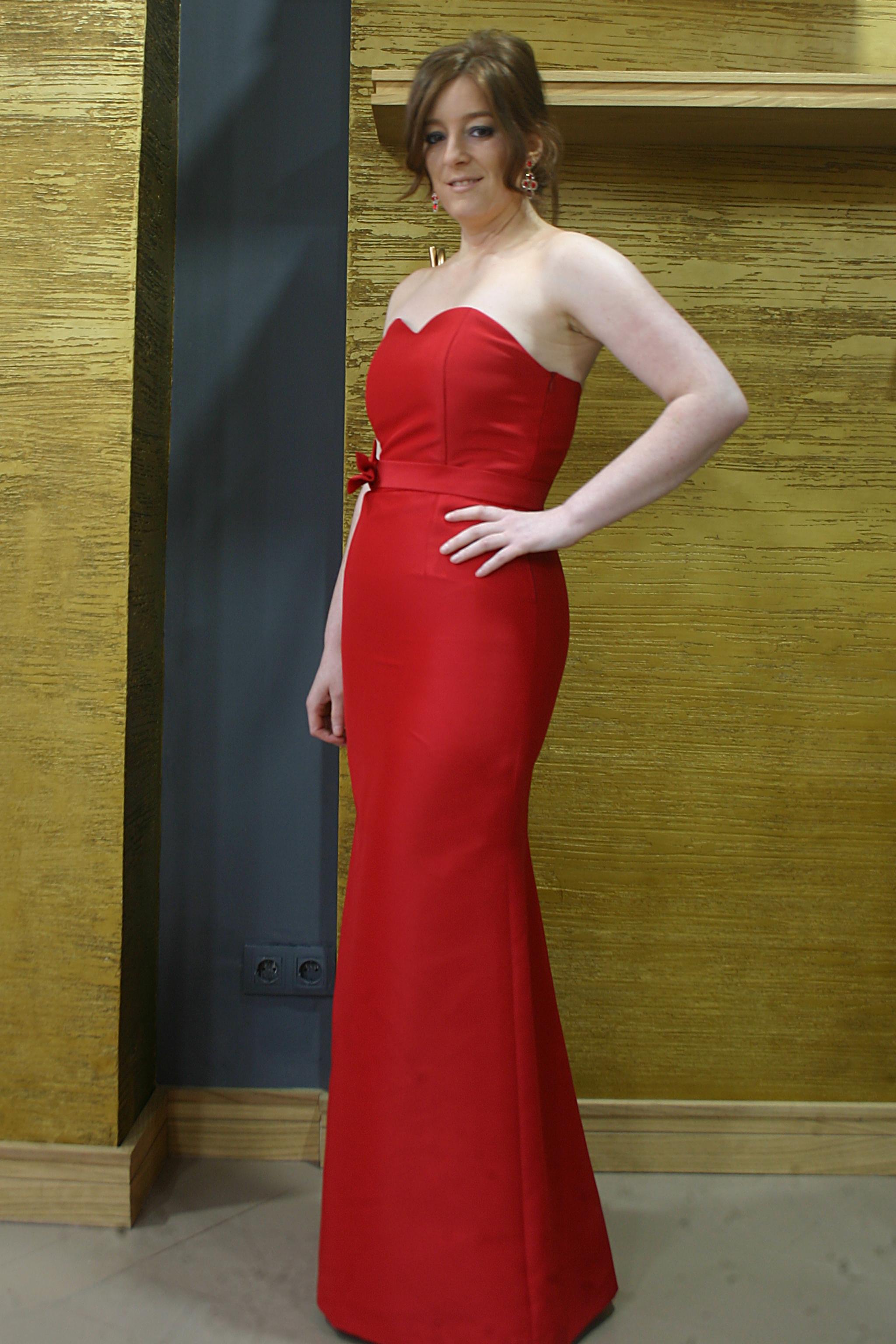 Vestio de lado rojo soleia